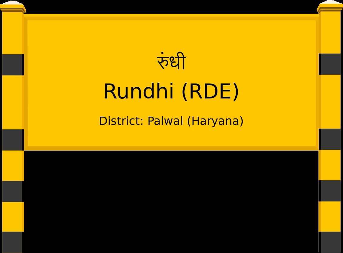Rundhi (RDE) Railway Station