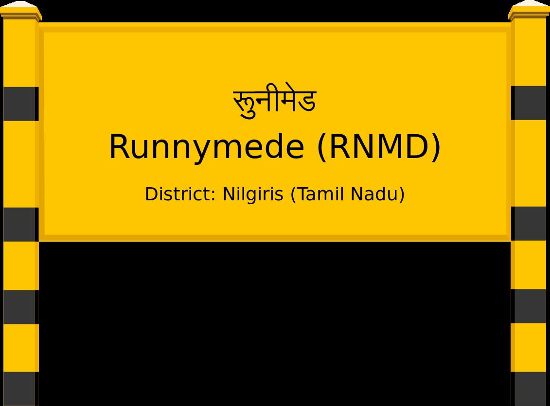 Runnymede (RNMD) Railway Station