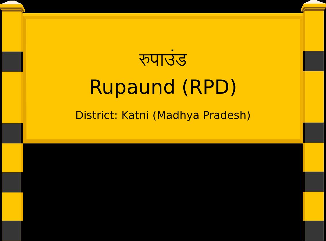 Rupaund (RPD) Railway Station