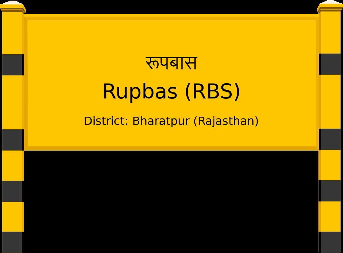 Rupbas (RBS) Railway Station