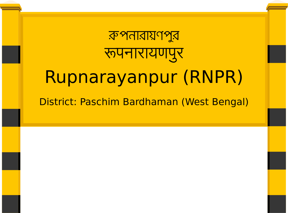Rupnarayanpur (RNPR) Railway Station