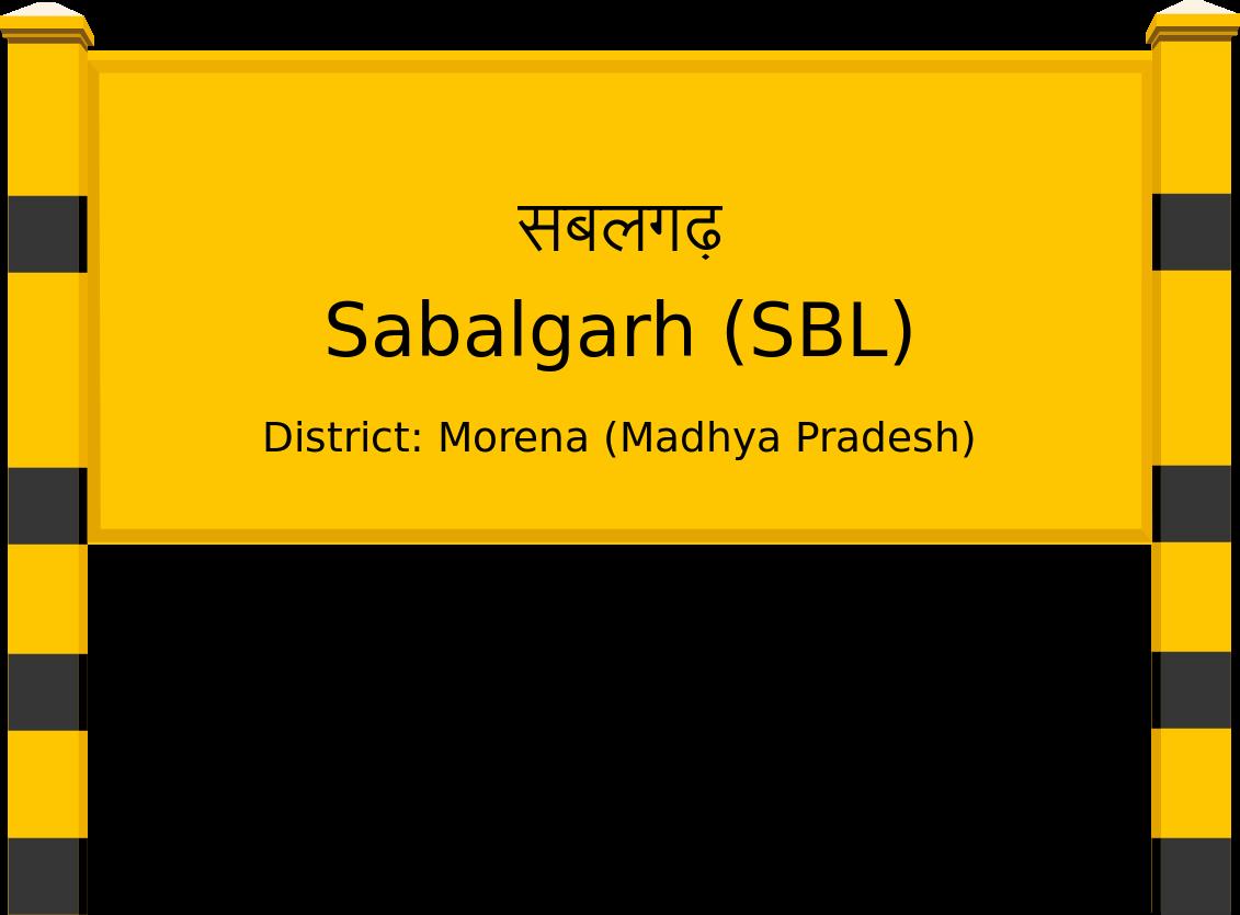 Sabalgarh (SBL) Railway Station