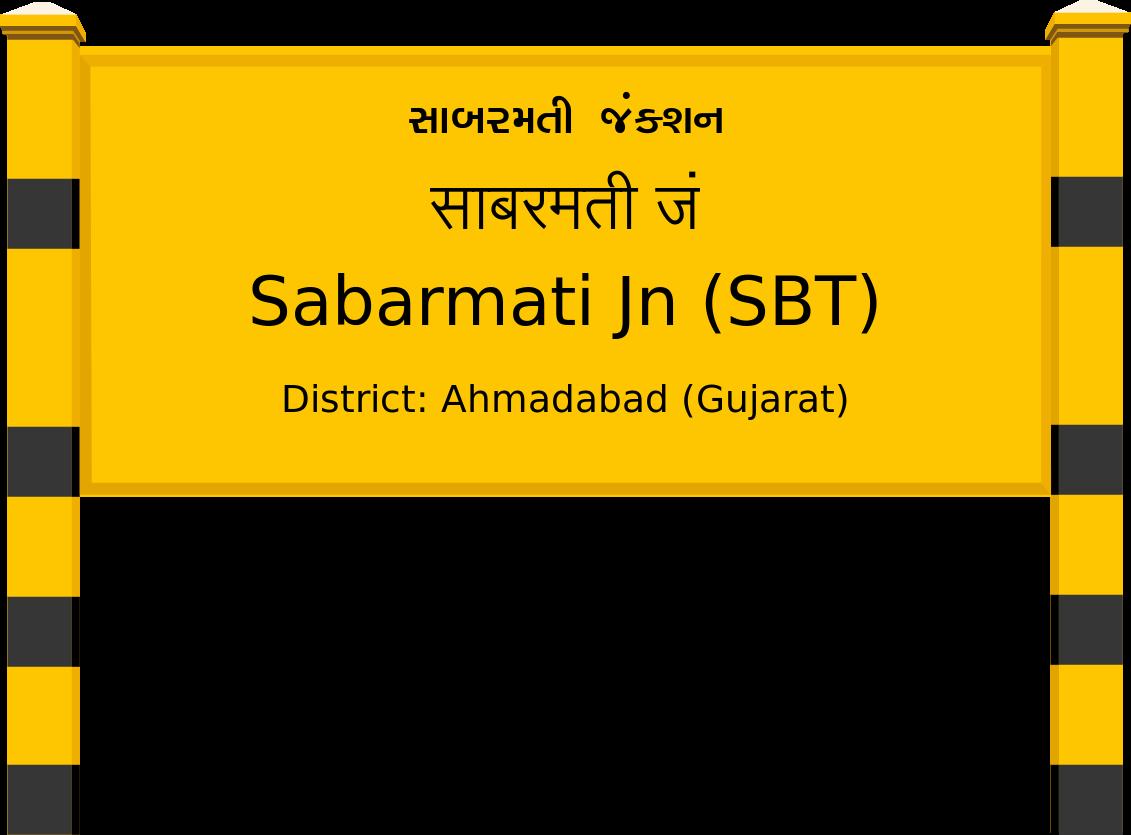 Sabarmati Jn (SBT) Railway Station