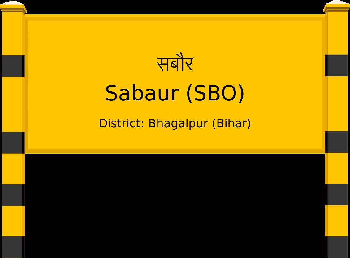 Sabaur (SBO) Railway Station