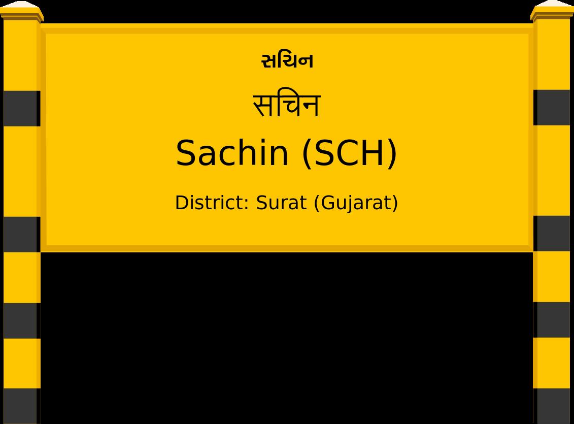 Sachin (SCH) Railway Station