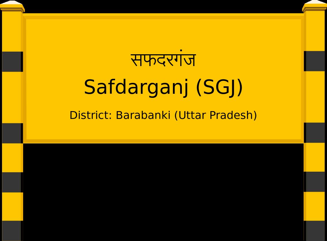Safdarganj (SGJ) Railway Station