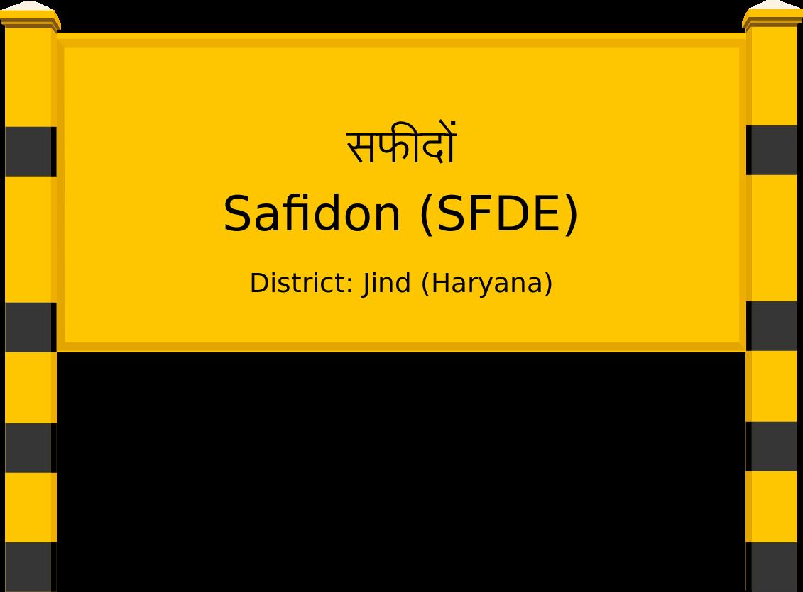 Safidon (SFDE) Railway Station