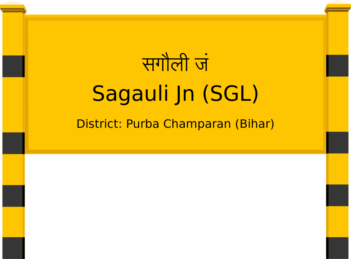 Sagauli Jn (SGL) Railway Station