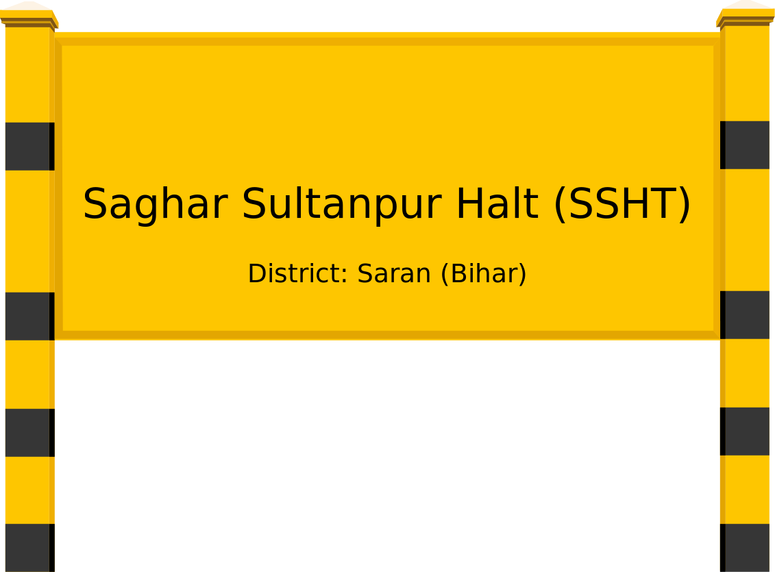 Saghar Sultanpur Halt (SSHT) Railway Station