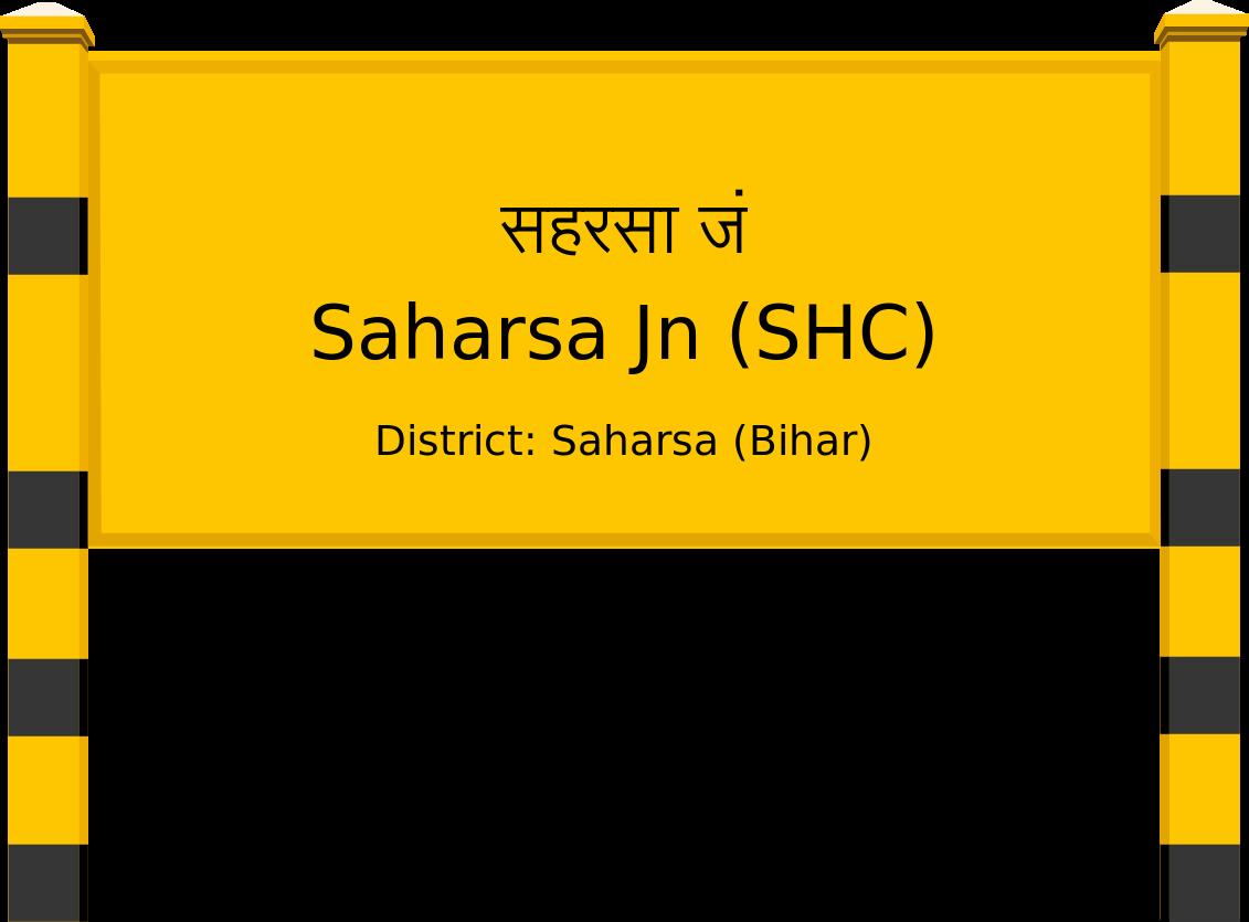 Saharsa Jn (SHC) Railway Station