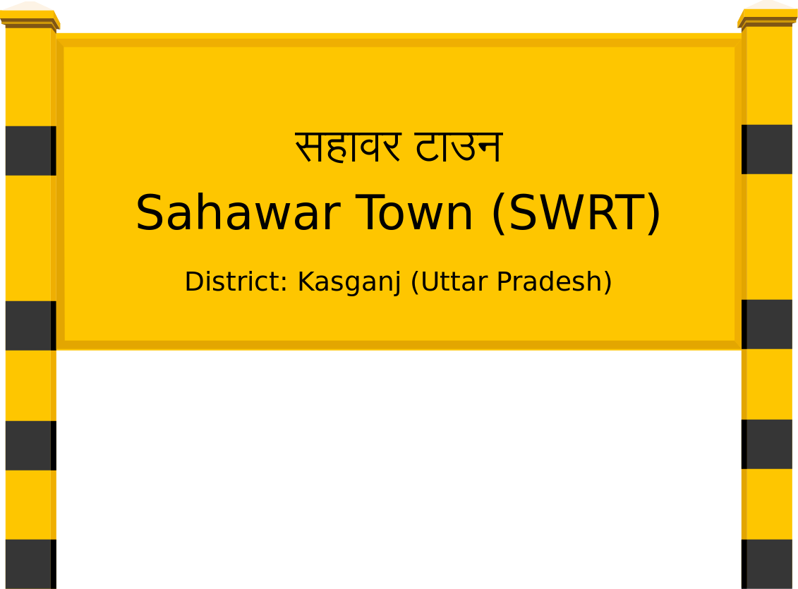 Sahawar Town (SWRT) Railway Station