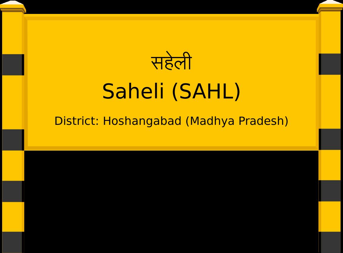Saheli (SAHL) Railway Station