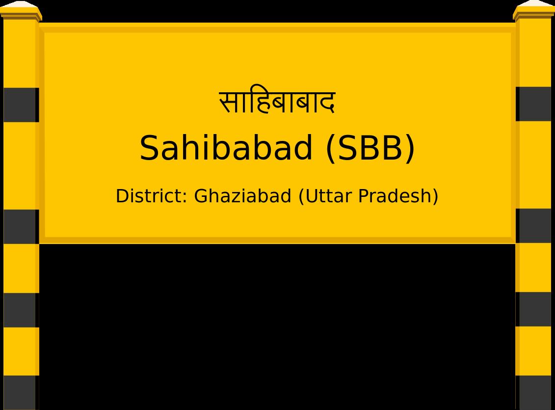 Sahibabad (SBB) Railway Station