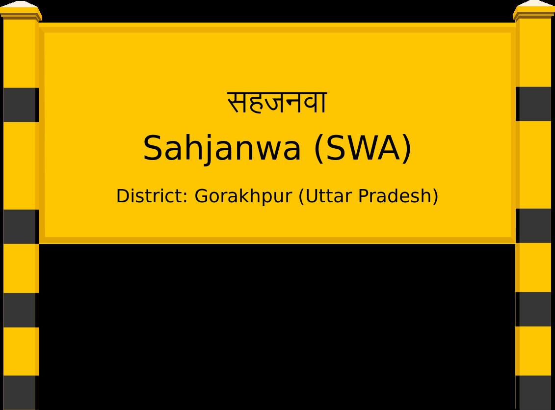 Sahjanwa (SWA) Railway Station