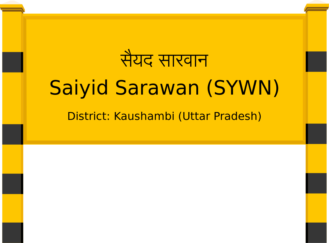 Saiyid Sarawan (SYWN) Railway Station