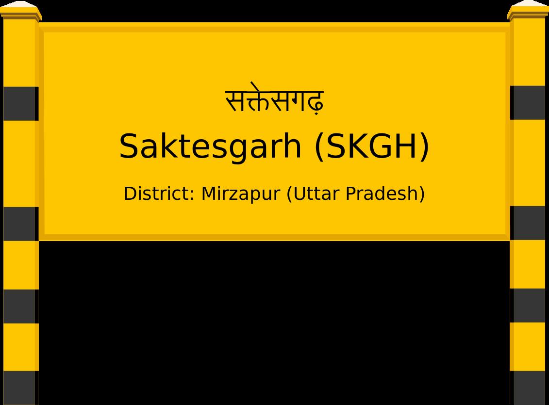 Saktesgarh (SKGH) Railway Station