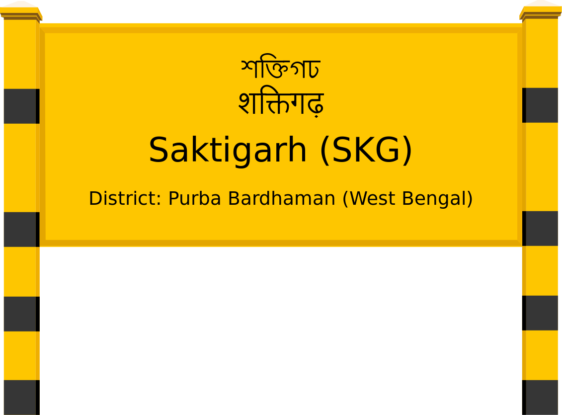 Saktigarh (SKG) Railway Station