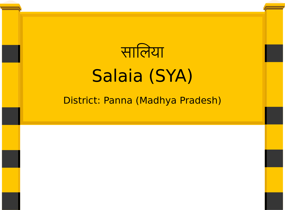 Salaia (SYA) Railway Station