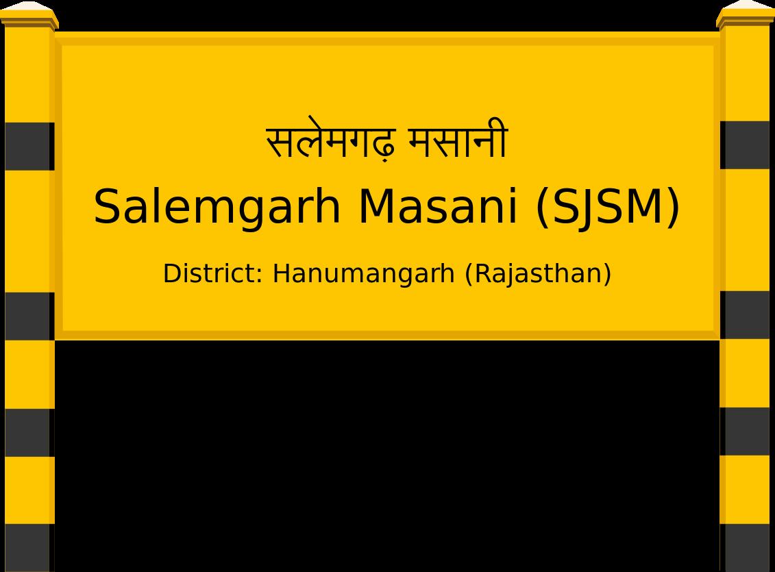 Salemgarh Masani (SJSM) Railway Station