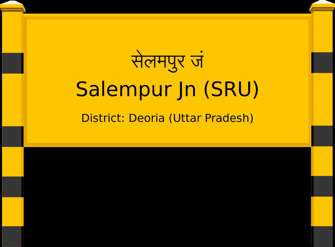 Salempur Jn (SRU) Railway Station