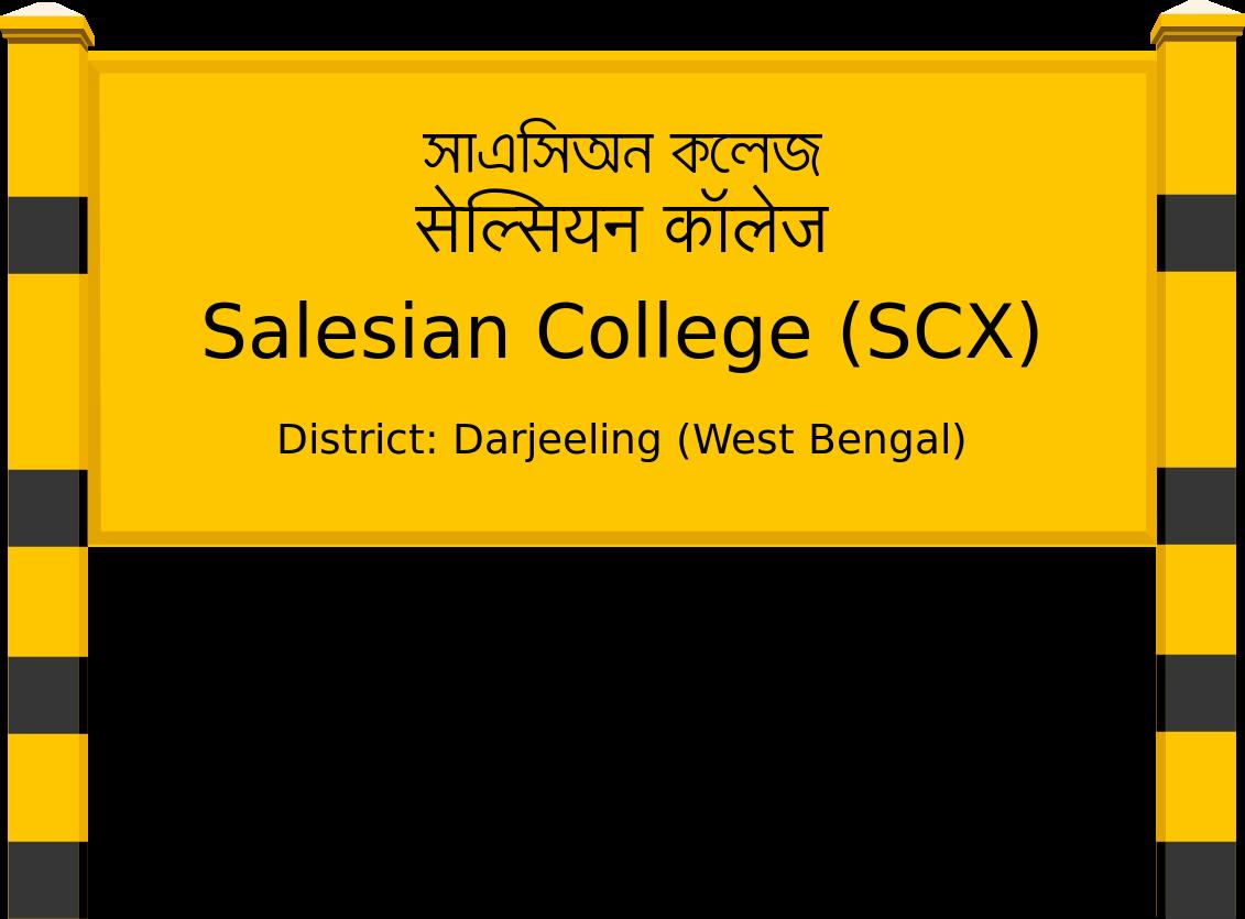 Salesian College (SCX) Railway Station
