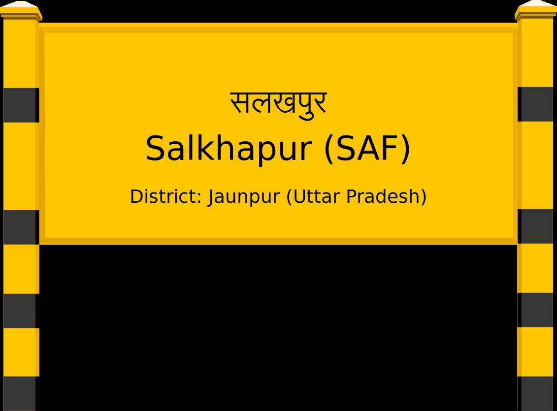 Salkhapur (SAF) Railway Station
