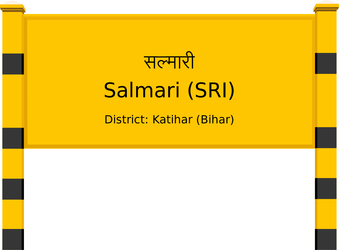 Salmari (SRI) Railway Station