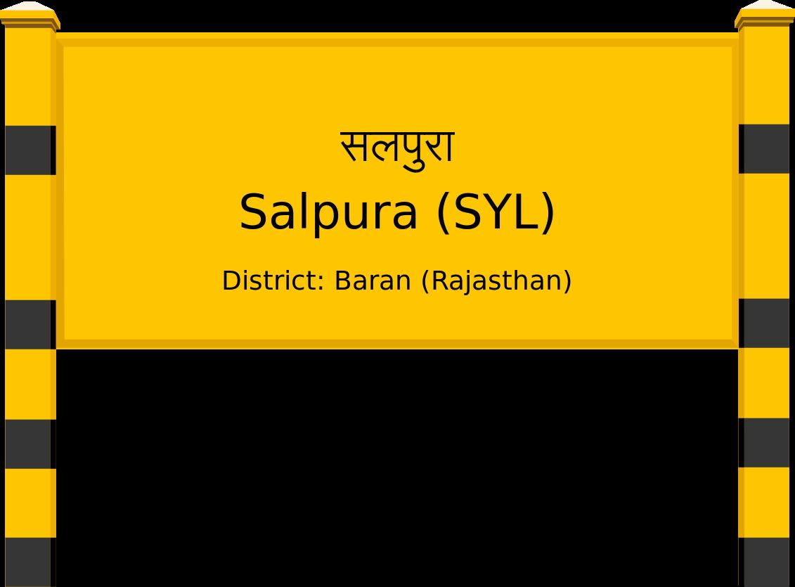 Salpura (SYL) Railway Station