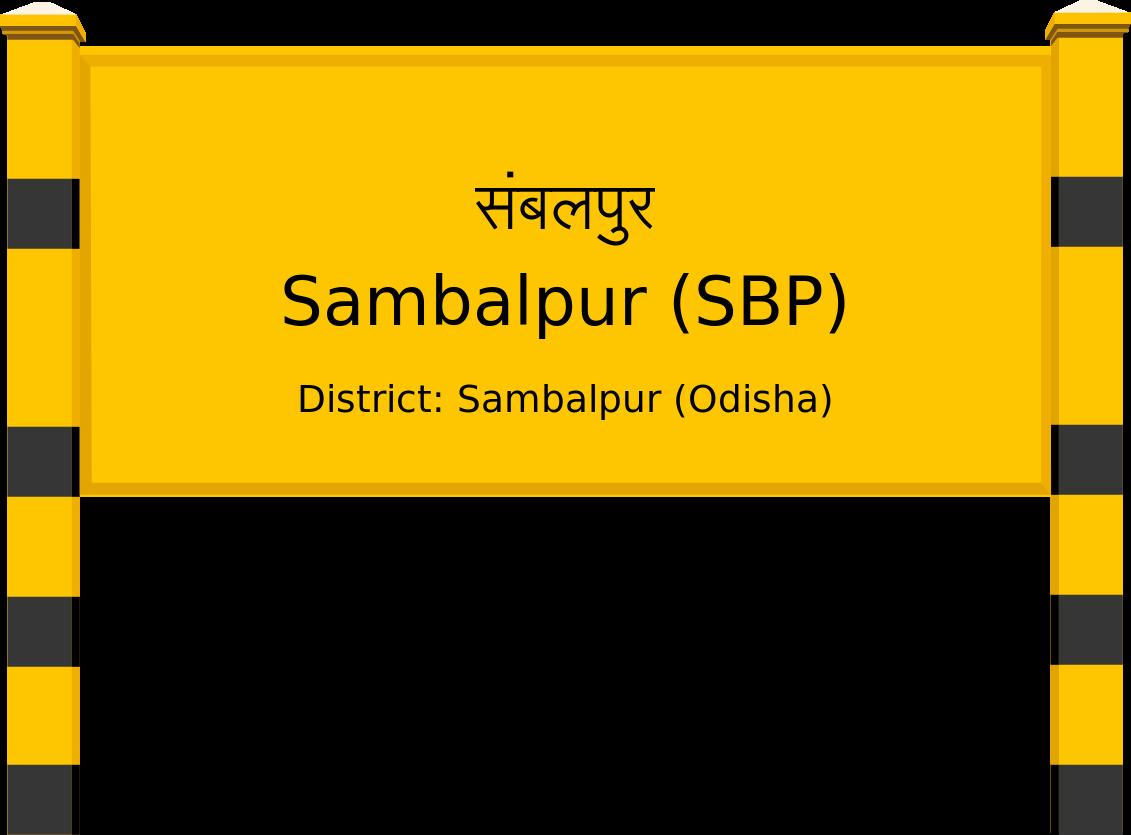 Sambalpur (SBP) Railway Station