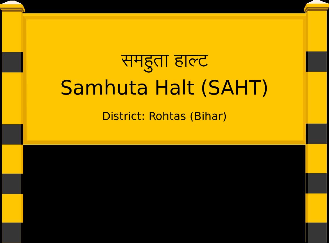 Samhuta Halt (SAHT) Railway Station