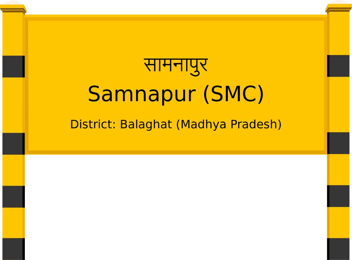 Samnapur (SMC) Railway Station