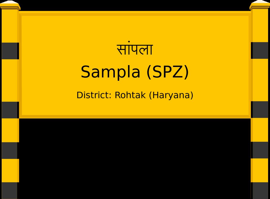 Sampla (SPZ) Railway Station