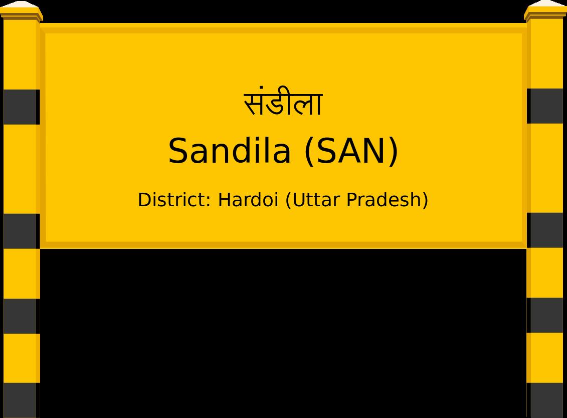 Sandila (SAN) Railway Station