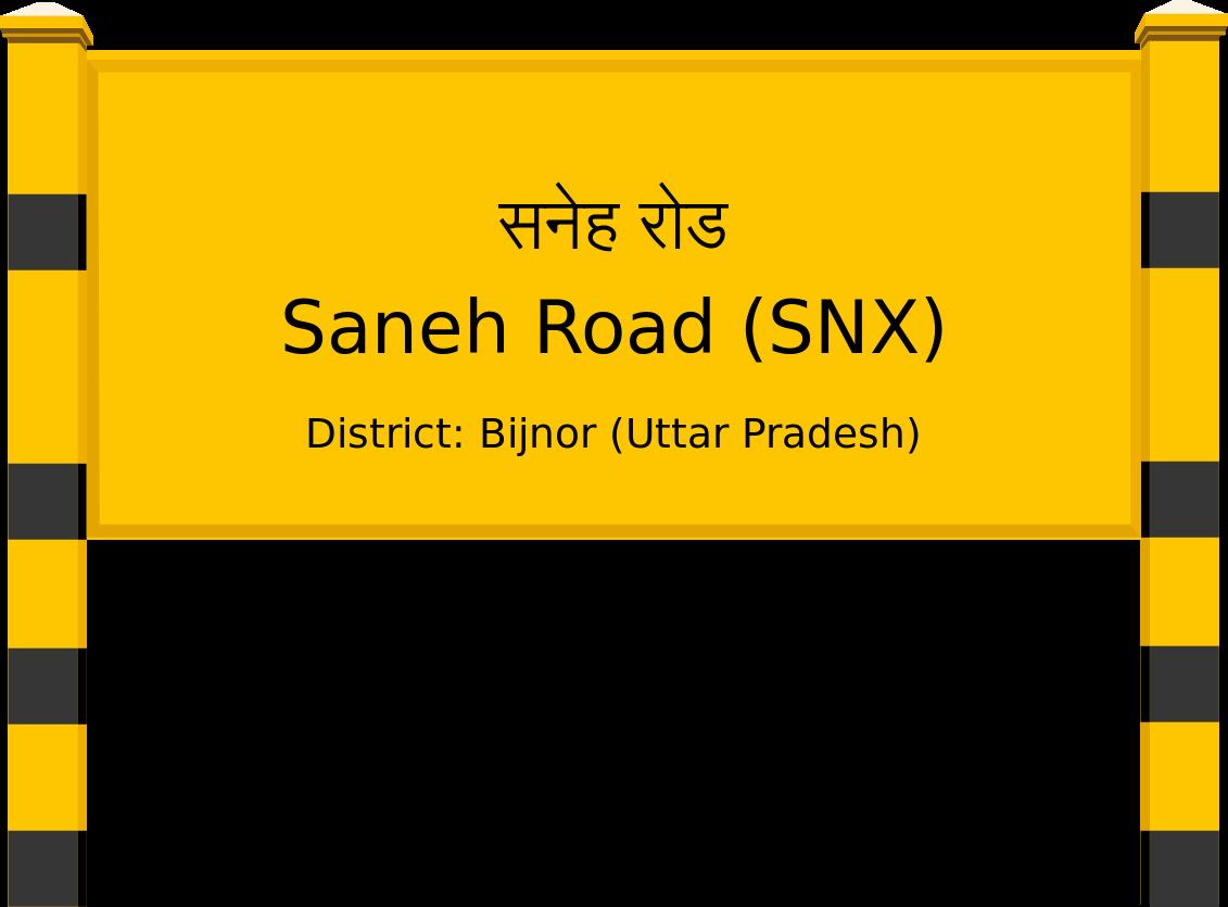 Saneh Road (SNX) Railway Station