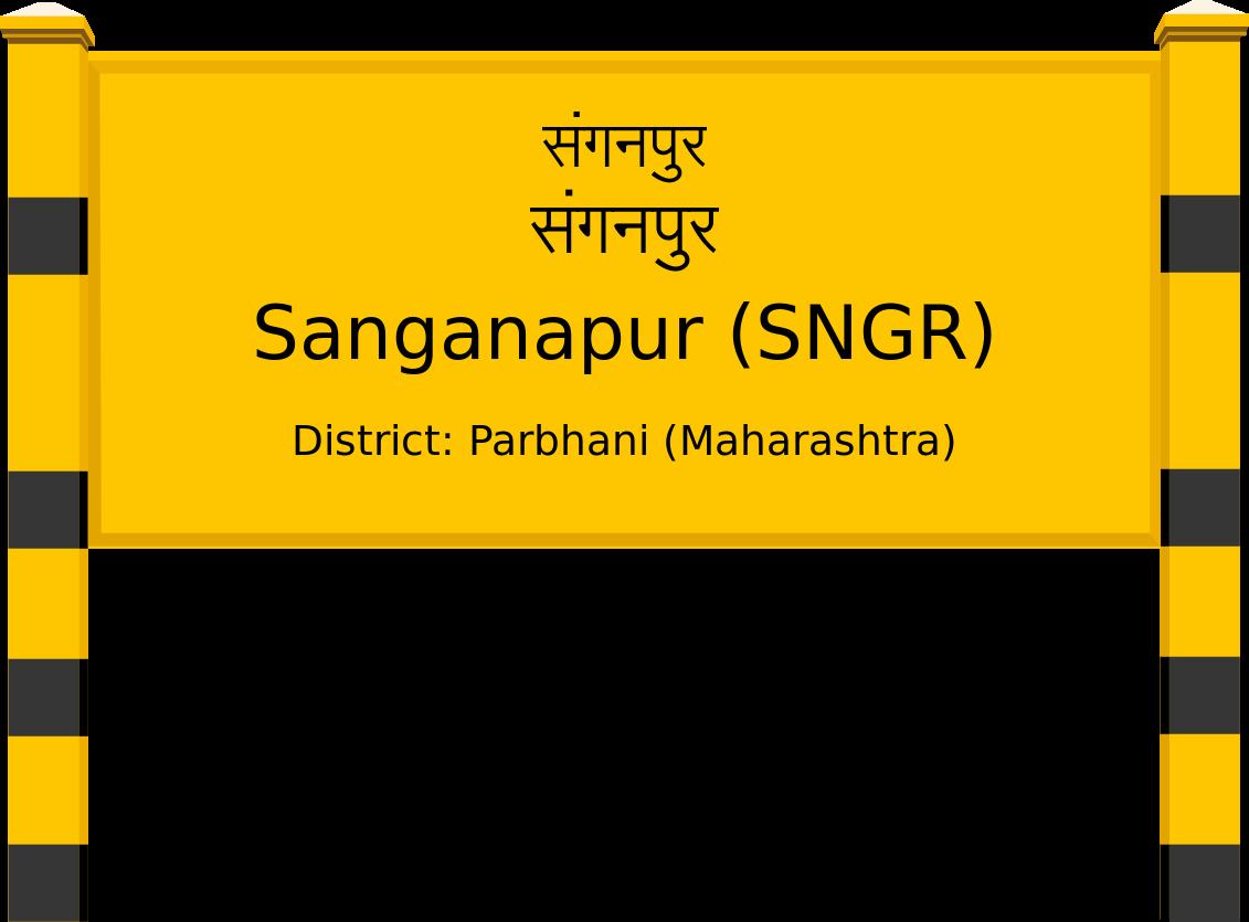 Sanganapur (SNGR) Railway Station