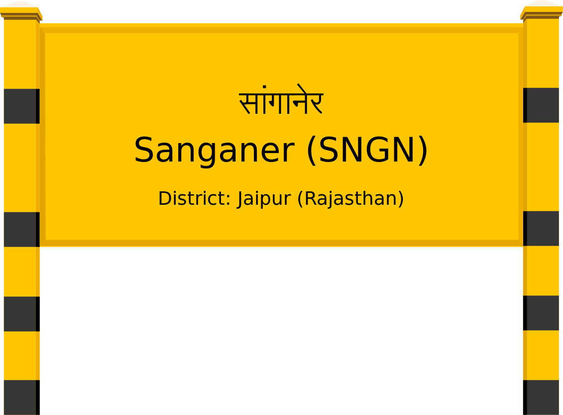 Sanganer (SNGN) Railway Station