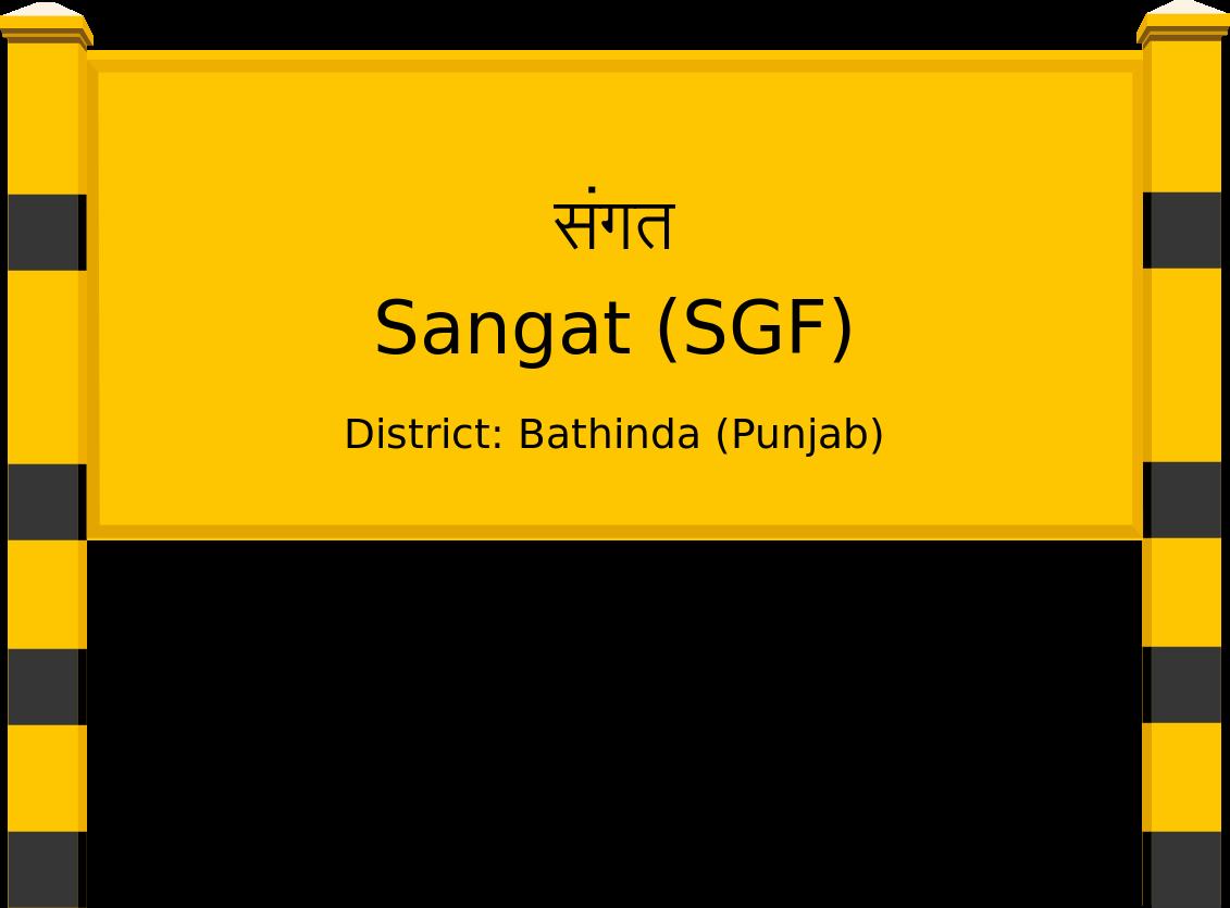 Sangat (SGF) Railway Station