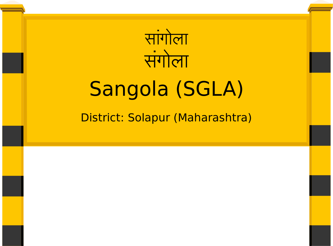 Sangola (SGLA) Railway Station