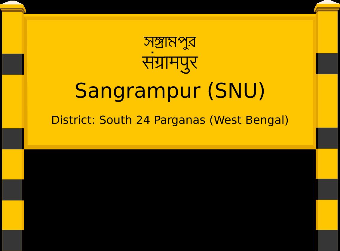 Sangrampur (SNU) Railway Station