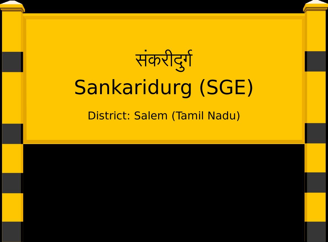 Sankaridurg (SGE) Railway Station