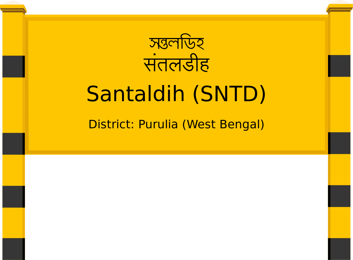 Santaldih (SNTD) Railway Station