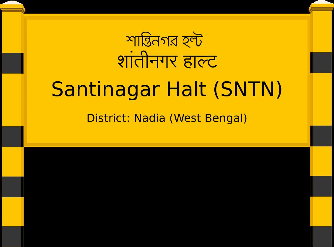 Santinagar Halt (SNTN) Railway Station