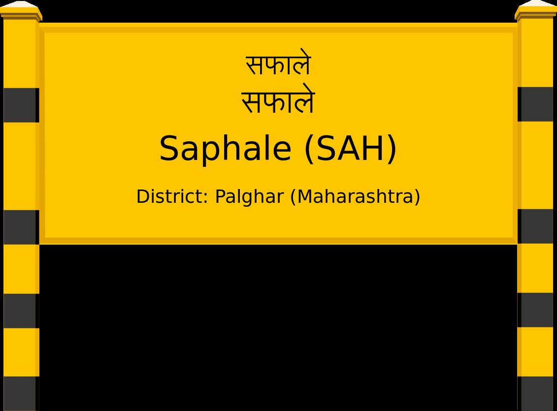 Saphale (SAH) Railway Station