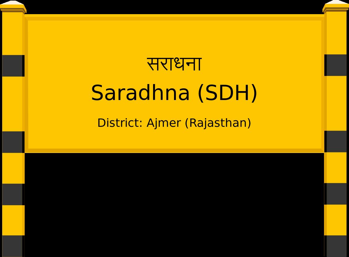 Saradhna (SDH) Railway Station