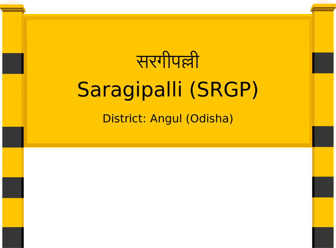 Saragipalli (SRGP) Railway Station