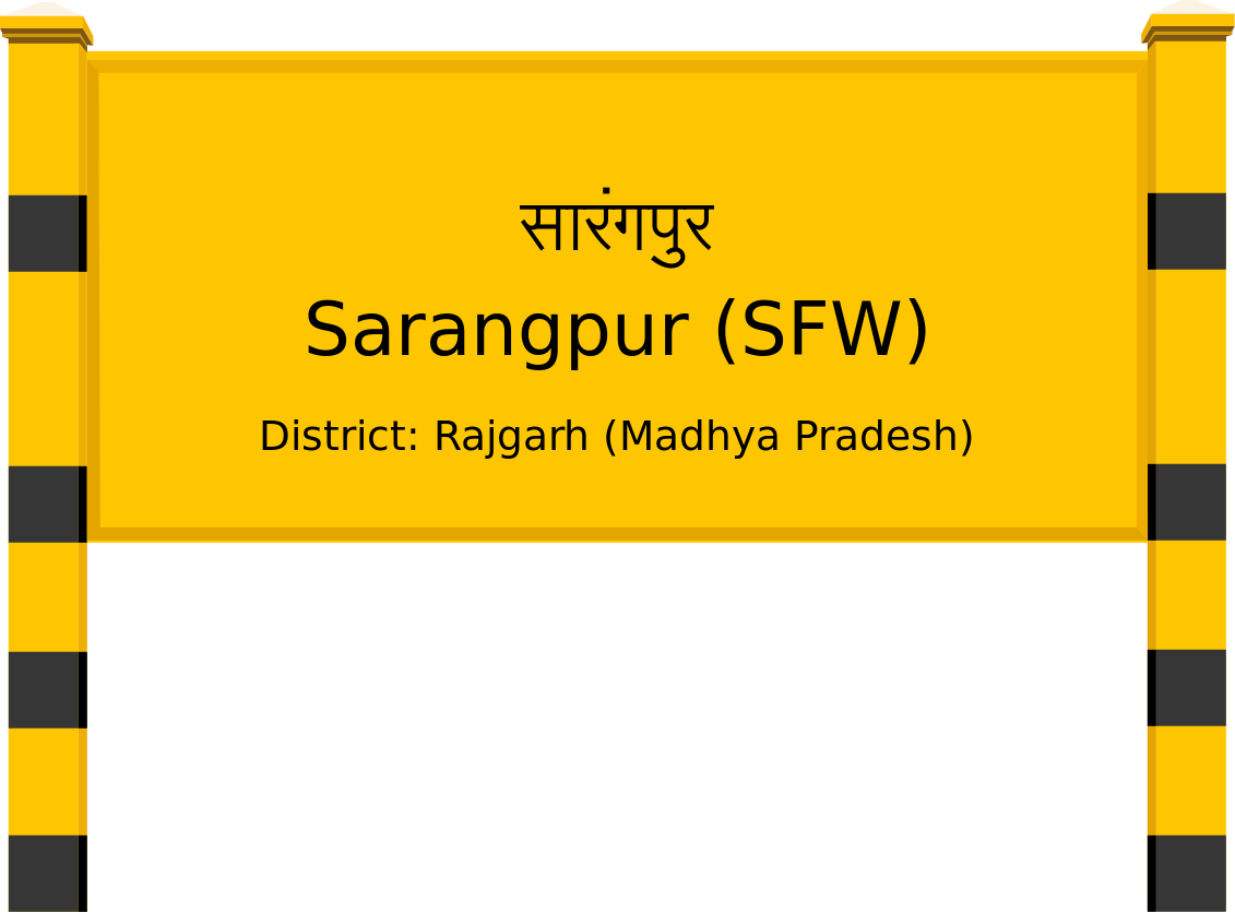 Sarangpur (SFW) Railway Station
