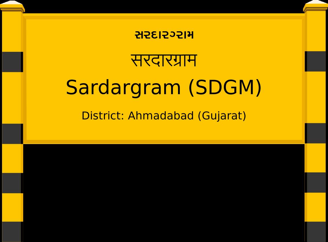 Sardargram (SDGM) Railway Station