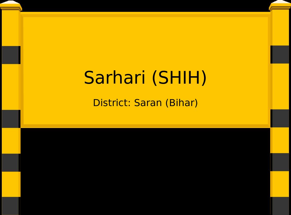 Sarhari (SHIH) Railway Station