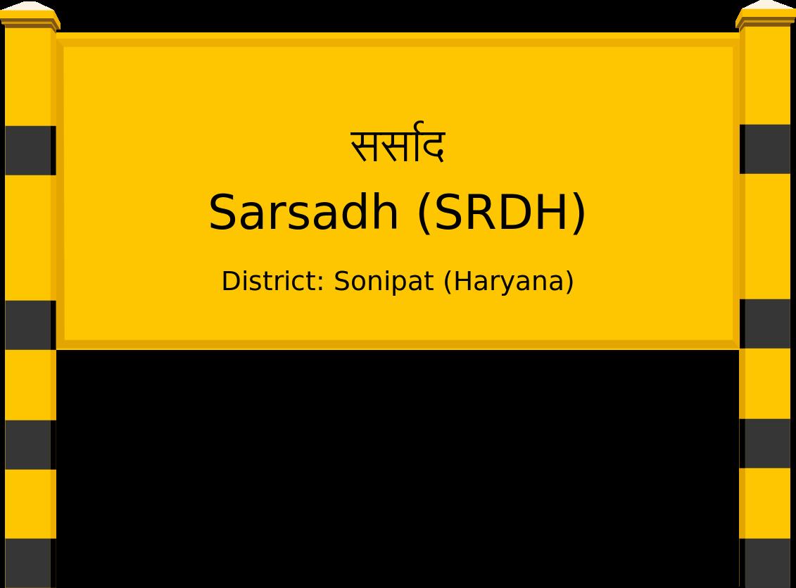 Sarsadh (SRDH) Railway Station