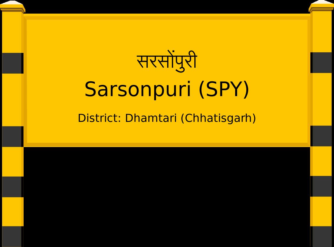 Sarsonpuri (SPY) Railway Station